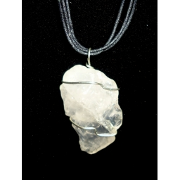 Quartz And Sterling Necklace..