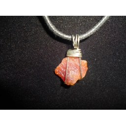 Lepidolite In Sterling Neckl..
