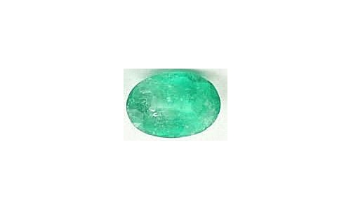 .80 cts 8x5x5 mm Loose faceted Colombian Emerald 327D
