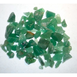 Green Quartz 500 cts 10 To 2..