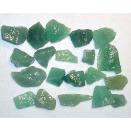 Green Quartz 400 cts 15 To 3..