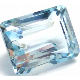 Aquamarine faceted 2.5 ..