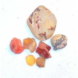 Mexican fire opal 30 cts 5 t..