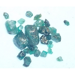Columbian Emerald Rough 25 c..