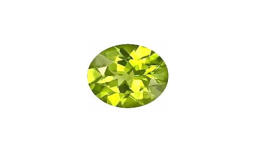 1 cts 8x6x4 MM Peridote loose faceted 1470D
