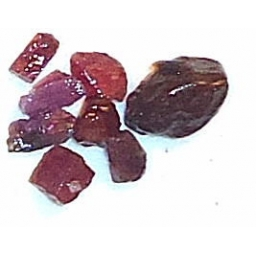 Ox Blood Ruby Rough 10 cts 6..
