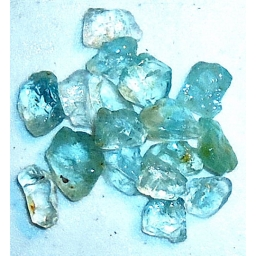 10 to 12 MM Blue Topaz Rough..