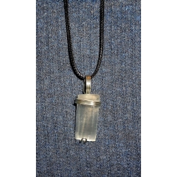 Selenite in Silver  Han..