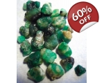 25 cts 3 to 10  mm Rough Colombian Emerald for ..