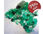 6 cts 1 to 10  mm Rough Colombian Emerald for s..