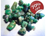 62 cts 5 to 15  mm Rough Colombian Emerald for ..