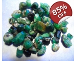 47 cts 3 to 10  mm Rough Colombian Emerald for ..