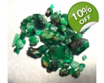 18 cts 3 to 10  mm Rough Colombian Emerald for ..