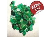 10 cts 2 to 8  mm Rough Colombian Emerald for s..