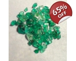 3 cts 1 to 4  mm Rough Colombian Emerald for sa..