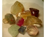 1/4 Pound 15 to 30 mm Rough loose Fluorite for s..
