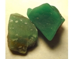 110 Grams/550 cts 40 mm Green Quqrtz natural gem..