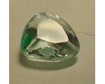 1.7 cts 8x8x5mm aquamarine loose faceted genuine..