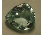 1.8 cts 9x8x5mm Loose faceted Aquamarine cut nat..
