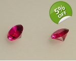 Loose faceted Burma Ruby ..