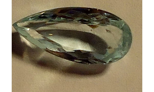 Aquamarine faceted Loose 2.2 cts 13x5x4  mm for sale X991
