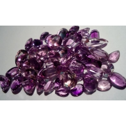 159 cts mixed faceted L..