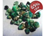 37 cts 3 to 10  mm Rough Colombian Emerald for ..