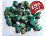 57 cts 3 to 19  mm Rough Colombian Emerald for ..