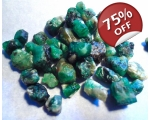 70 cts 3 to 10  mm Rough Colombian Emerald for ..