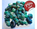 60 cts 3 to 10  mm Rough Colombian Emerald for ..