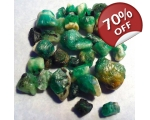 35 cts 3 to 10  mm Rough Colombian Emerald for ..