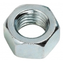 7mm Plain Nut zink