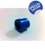 Blue Anodized Aluminum He..