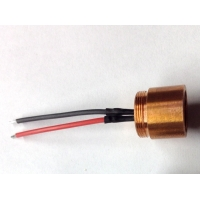 Binned DIY 2.2W 445nm M140 Diode in Copper Module With Wire Leads