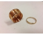 Copper Driver Pill & Brass Ring