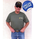 Survival Laser T-shirt - Military Green