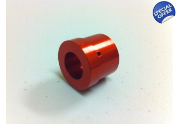 Red Anodized Aluminum Heat Sink