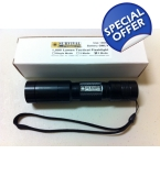 Survival Laser 1,000 Lumen Tactical Flashlight- 5 Mode