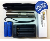 Survival Laser Stainless Steel 1,000 Lumen Flas..