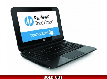 HP Pavilion 10 TouchSmart AMD A4-1200 2GB 320GB Win 8.1 10.1 Inch