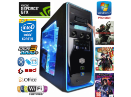 iCraft Intel Core i5 3.6Ghz 8gb 1tb SSD WiFi BT NVidia GTX Win 7 Pro