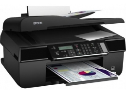 Epson STYLUS Office BX305F NETWORK-READY 4-IN-1 Colour Ink-jet - Fax / copier / printer / scanner ..