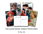 A Personal Portrait Of The Royal Family Postcard..
