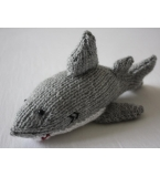 Handmade Knitted Decorative Shark