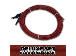 Superior Bassworks Deluxe Upright Double Bass Strings Blood Red