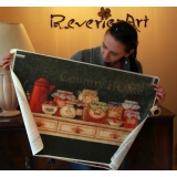 Extra Large rice paper 55x80 Jardin9