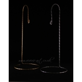 Metal stands - hook T1 gold/silver