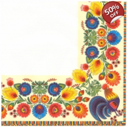 Napkins lunch size 33x33 - F..