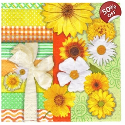 Napkins lunch size 33x33 - s..