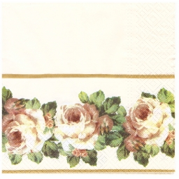 Napkins lunch size 33x33cm R..
